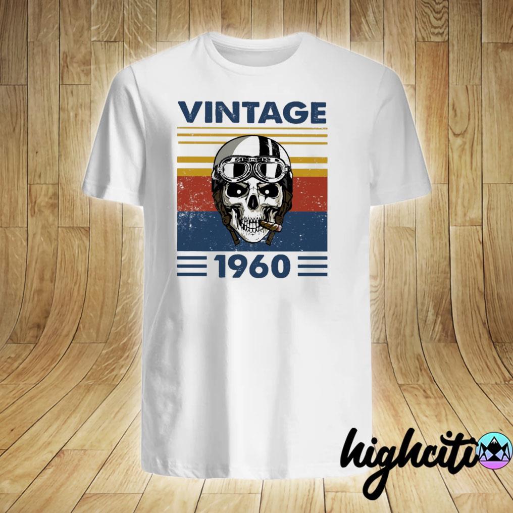 Skull Pilot 1960 Vintage Shirt