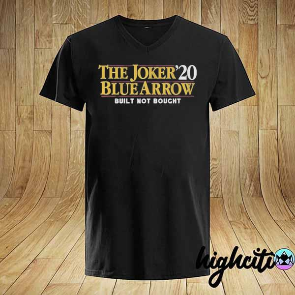 The Joker Blue Arrow 2020 Shirt
