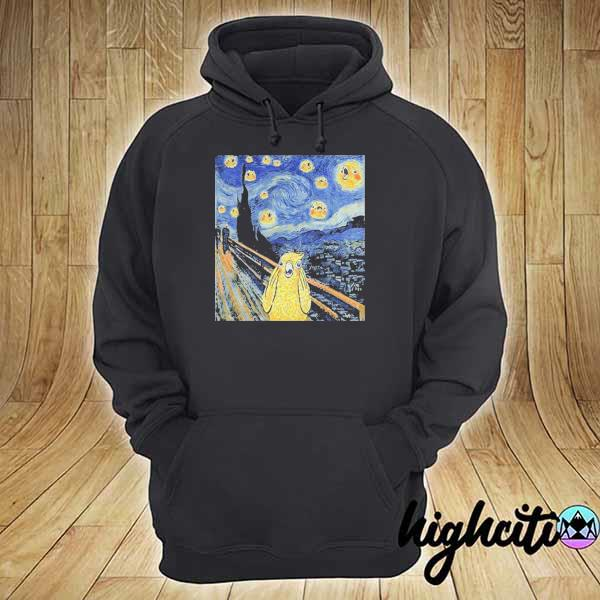 Vincent van gogh the starry night bird s hoodie