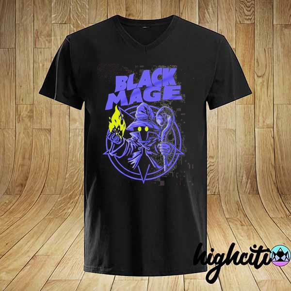 Warriors of Light – Final Fantasy Black Mage Shirt