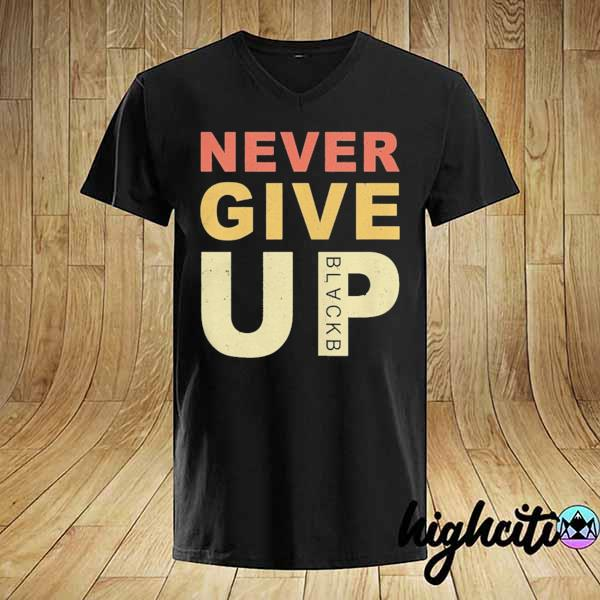Mohamed Salah Never Give Up Vintage Shirt