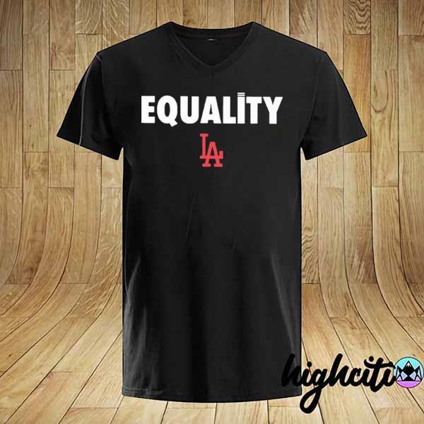 Logo #LA#2020 – Equality Dodgers T-Shirt