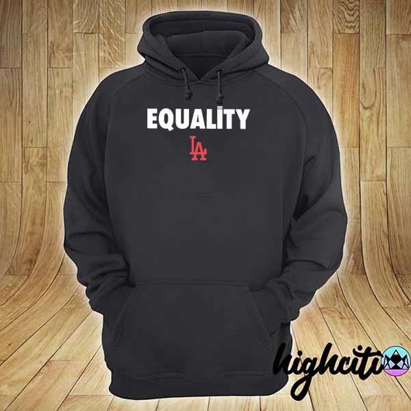 Logo #LA#2020 – Equality Dodgers T-Shirt hoodie