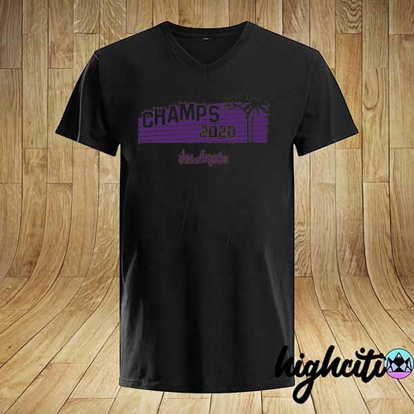 Hollywood Champs Shirt – L.A 2020 Basketball