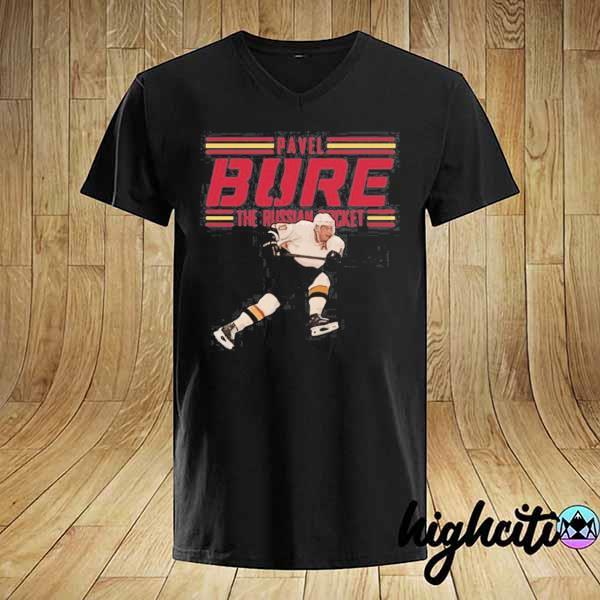 Nice Pavel Bure The Russian Rocket Play T-shirt