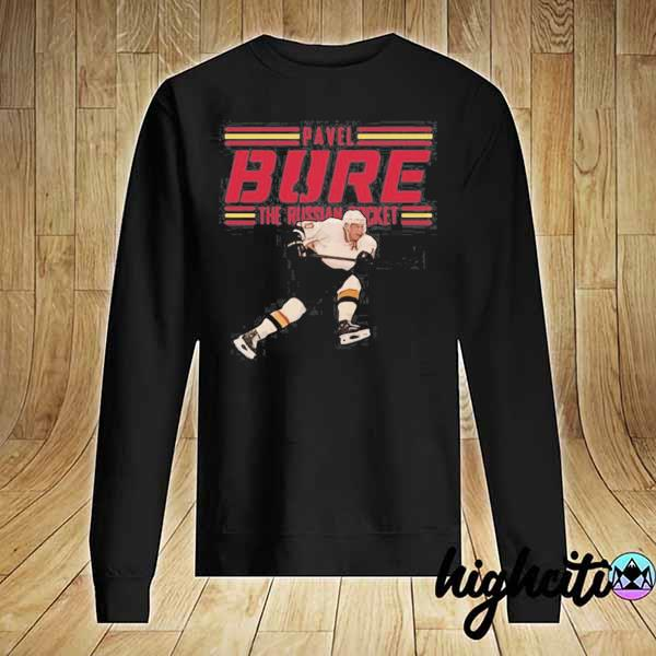 Nice Pavel Bure The Russian Rocket Play T-s Sweater