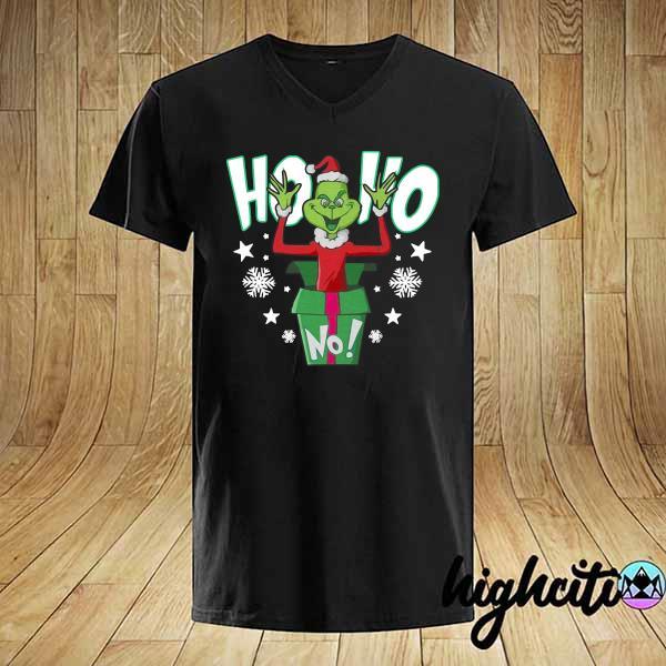 Premium ho ho christmas grinch sweatshirt