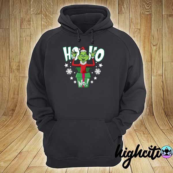 Premium ho ho christmas grinch sweats hoodie