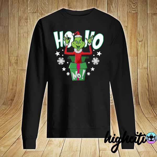 Premium ho ho christmas grinch sweats Sweater