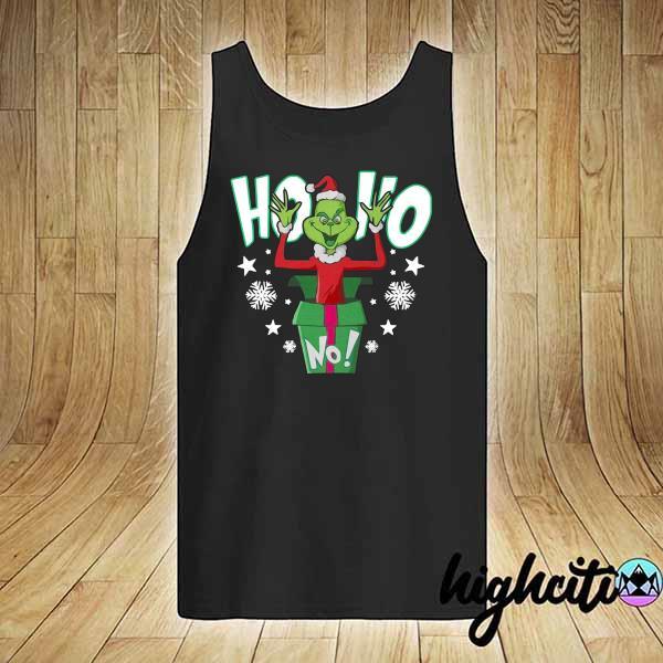 Premium ho ho christmas grinch sweats tank-top