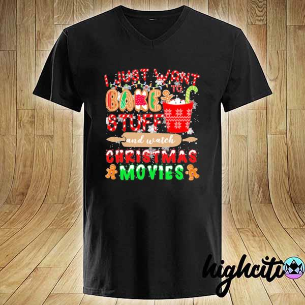 2020 i just want to bake stuff and watch christmas movies sweats V-neck