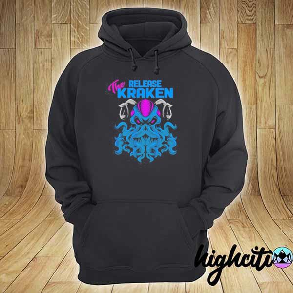 2020 kraken sea monster vintage release the kraken giant kraken youth sweats hoodie