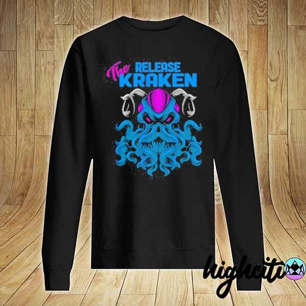 2020 kraken sea monster vintage release the kraken giant kraken youth sweats Sweater