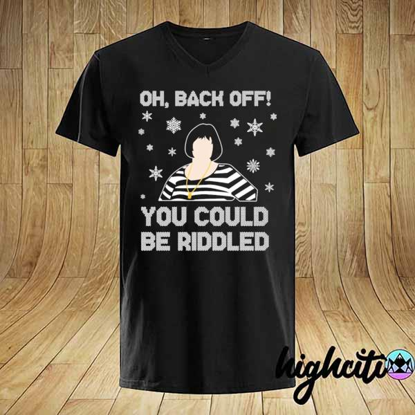 2020 nessa oh back of you could riddled christmas sweatshirt
