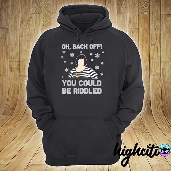 2020 nessa oh back of you could riddled christmas sweats hoodie