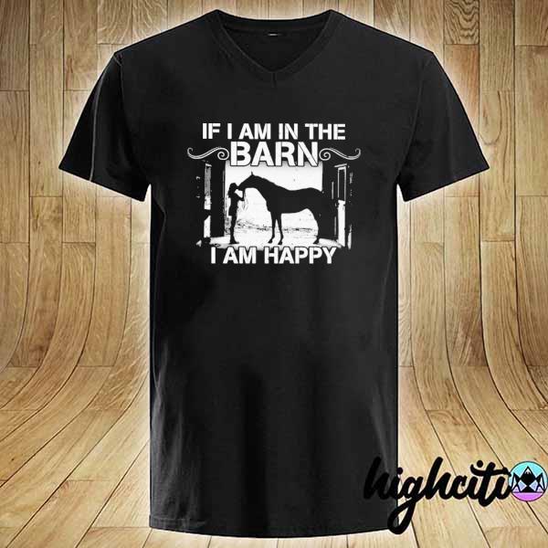 Premium if i am in the barn i am happy sweats V-neck