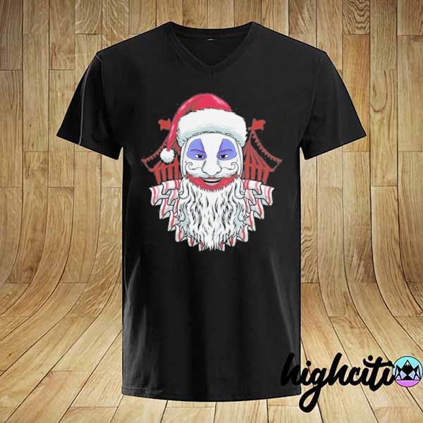 Premium john wayne gacy clown christmas sweatshirt