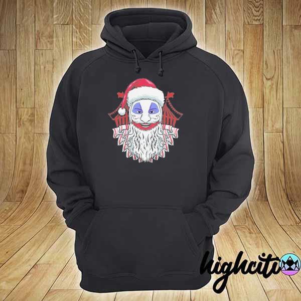Premium john wayne gacy clown christmas sweats hoodie