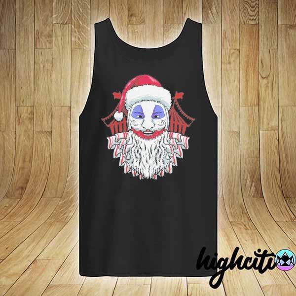 Premium john wayne gacy clown christmas sweats tank-top