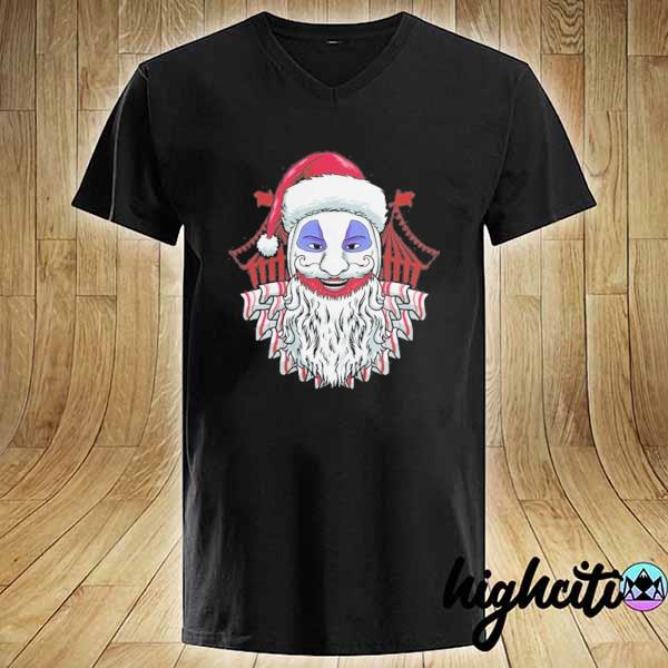 Premium john wayne gacy clown christmas sweats V-neck
