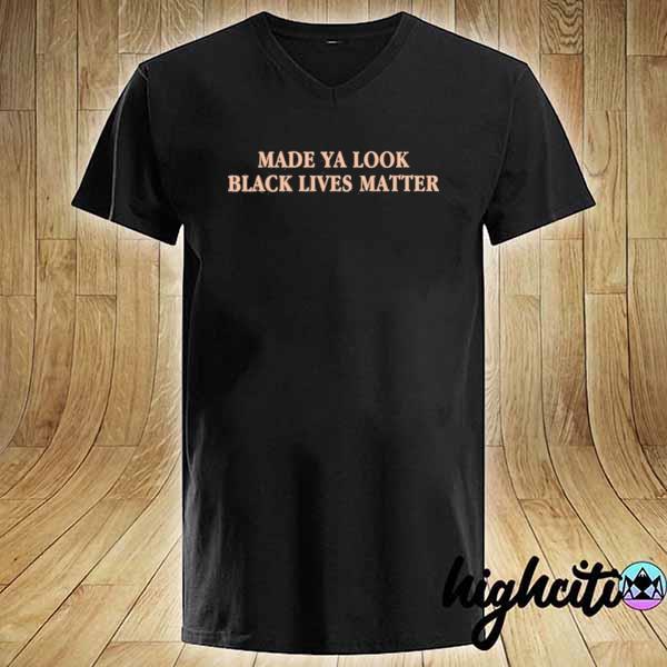Premium made ya look black lives matter sweats V-neck