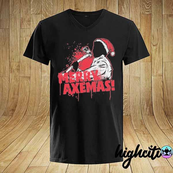 Premium merry axe-mas christmas sweatshirt