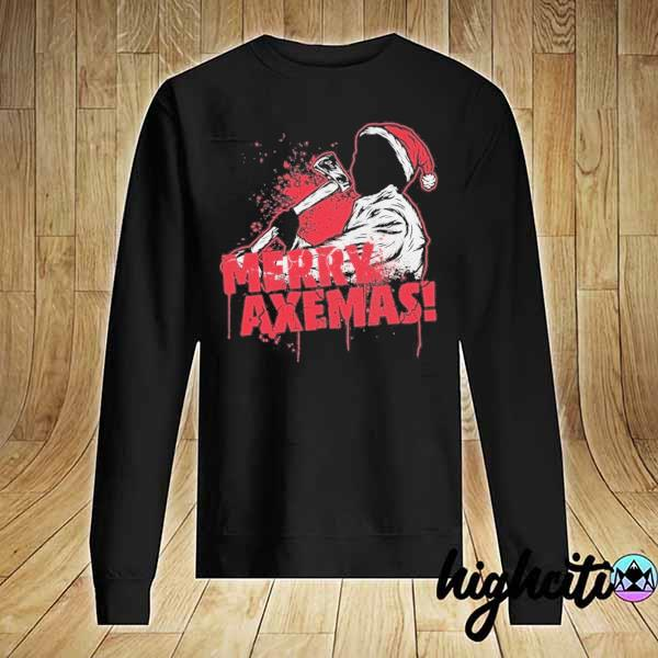 Premium merry axe-mas christmas sweats Sweater