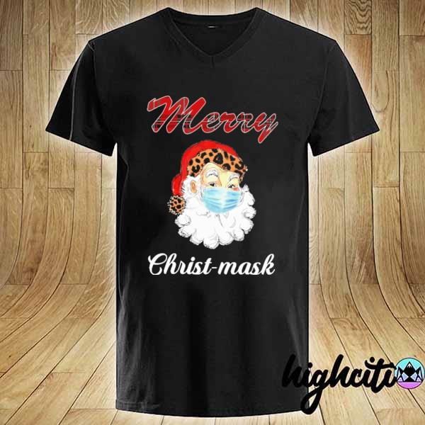 Premium merry christmask sweats V-neck