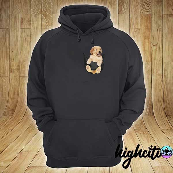 Premium puppy dog pocket sweats hoodie