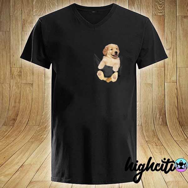 Premium puppy dog pocket sweats V-neck