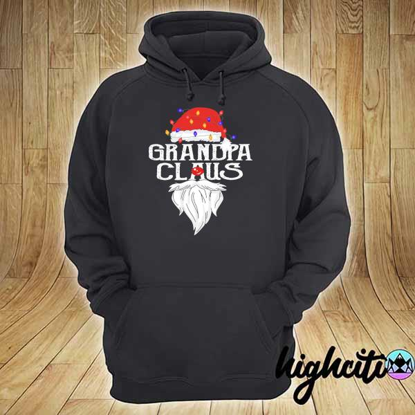 Premium santa claus grandpa claus merry christmas sweats hoodie