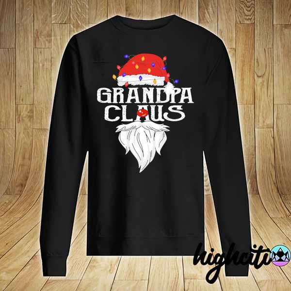Premium santa claus grandpa claus merry christmas sweats Sweater