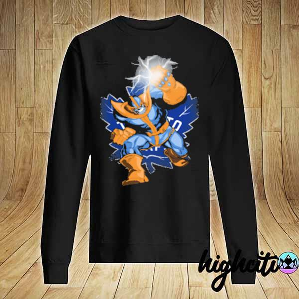 Toronto maple leafs nhl hockey thanos avengers infinity war marvel women's s Sweater