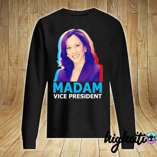 Official Kamala Harris Madam Vice President T-Shirt Sweater