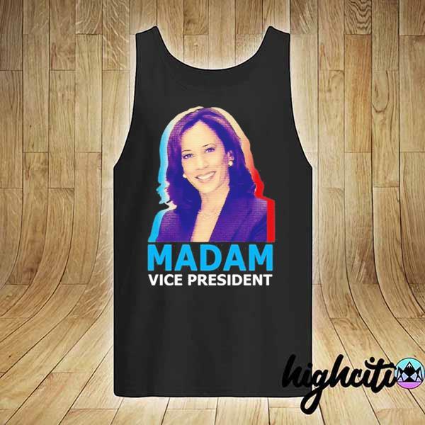 Official Kamala Harris Madam Vice President T-Shirt tank-top