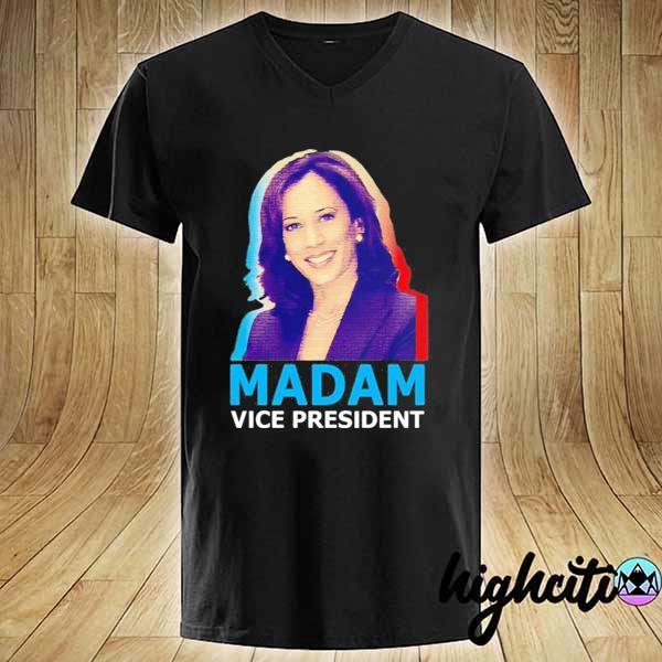 Official Kamala Harris Madam Vice President T-Shirt V-neck