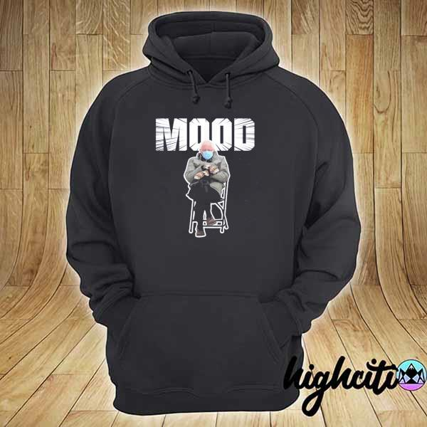 Bernie sanders gloves mittens bad mood 2021 inauguration s hoodie
